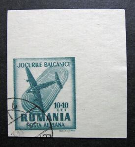 Romania 1948 Scott #CB14 Imperf Used - Scott 2010 Catalogue Value $1.00!