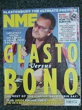 NME - 25 JUNE 2011 - GLASTONBURY + BONO + ARCADE FIRE + COLDPLAY + HORRORS