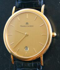 Maurice Lacroix Les Qlassiques Gelb Gold 18K 750 Elegante Herren Armbanduhr