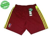 Brand New ADIDAS VENEZUELA FVF HOME Authentic Men's FOOTBALL SHORTS A95234