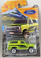 2018 Hot Wheels Ford Bronco 4x4 Truck Diecast Metal Chassis & Base