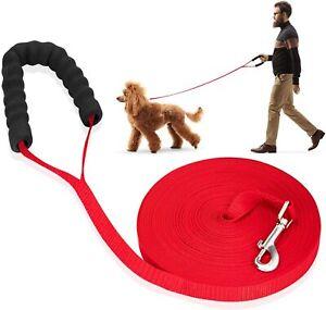 Schleppleine für Hunde,Hundeleine Lang Langlaufleine für Große