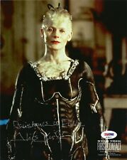 """ALICE KRIGE as BORG QUEEN SIGNED 8x10 PHOTO  """"STAR TREK FIRST CONTACT"""" PSA DNA"""