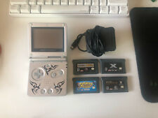 Nintendo Game Boy Advance SP Tribal Limited Edition - Silver