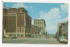 Broad Street Chattanooga Tennessee USA Postcard 701a