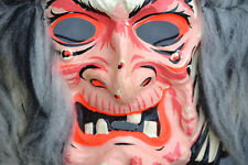 Vintage Collegeville Ugly Warts WITCH MASK & Halloween COSTUME in Original BOX