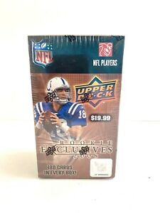 2008 Upper Deck NFL Rookie RC Exclusives Factory Sealed Blaster Box of 180 Cards