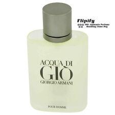 Aqua Acqua Di Gio Cologne TSTR EDT Spray 3.3 3.4 oz Giorgio Armani for Men