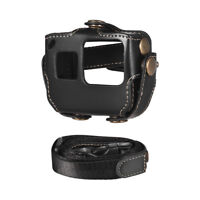 Protective Case for GoPro Hero 6/5 Action Camera PU Leather Shell Cover Bag A7N6