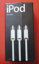 Ipod AV Cable M9765 G/B Audio Video Cable RCA Apple