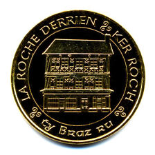 22 LA ROCHE-DERRIEN Ker Roc'h, couleur or, 2018, Monnaie de Paris