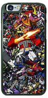 Transformers Cartoon Fighting Design Phone Case for iPhone Samsung Google etc