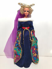 MEDIEVAL LADY BARBIE~ GREAT ERAS COLLECTION ~ 1994 ~