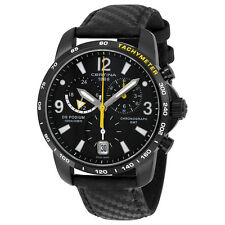 Certina DS Podium GMT Black PVD Stainless Steel Mens Watch C001.639.16.057.01