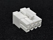 ATX PCIe Connector 8 pin conector incl. 8 terminales Pins-blanco