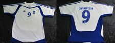Angelos Charisteas #9 GREECE Euro 2004 Home Shirt jersey ADIDAS  /adult SIZE L