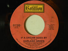 Garland Green 45 IF A DREAM GOES BY / 80-90-100 MPH   VG+ TO VG++