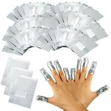 Nail Art Aluminium Foil Soak Off Acrylic Gel Polish Nail Wraps Remover Free Post