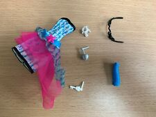 Monster High doll   Lagoona Blue Dot Dead Gorgeous dress & some accessories