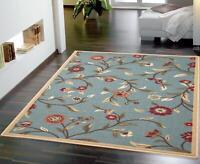 Ottomanson Ottohome Collection Floral Garden Design Modern Area Rug with