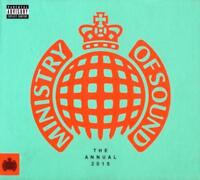 THE ANNUAL 2015 - MINISTRY OF SOUND V/A 3CDs (NEW/SEALED)  House