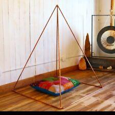 Copper Meditation Pyramid