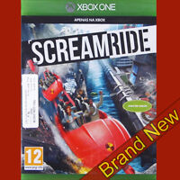 SCREAMRIDE Theme Park Game - Xbox ONE ~ Brand New & Sealed!