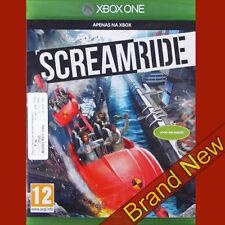 SCREAMRIDE Theme Park Game - Microsoft Xbox ONE ~12+ ~ BRAND NEW & Sealed !!