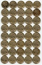 Full Date Buffalo Nickel Roll 40 coins 1916 1920 1926 1928 1930-S 1935 1936 1937