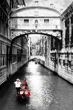 BRIDGE OF SIGHS - SCENIC POSTER - 24x36 VENICE ITALY TRAVEL 33375