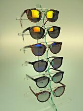 1 dz Aviator Sunglasses Tortoise Shell or Black Frames Silver Orange Blue Mirror