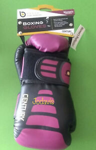 Century® BRAVE™ Women's Boxing Gloves 10 oz  c147016P Black with Pink