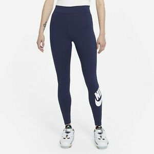 Nike Women's Sportswear Essential High-Waisted Leggings Midnight Navy CZ8528-410
