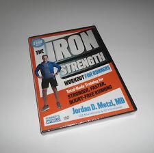 Iron Strength Workout For Runners Jordan D. Metzl Run (DVD Set NEW) Ironstrength
