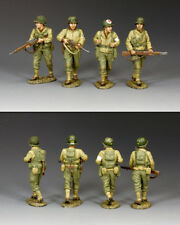 "KING AND COUNTRY WW2 U.S. ""Searching For Pvt. Ryan"" Set #2 D Day DD306"