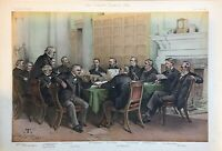 Original Vanity Fair Print 1883 'The Cabinet Council'  - Politician