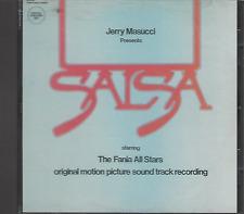 Salsa RARE CD FANIA ALL STARS First Pressing ORIGINAL SOUND TRACK RECORDING
