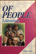 A Beka Book: Of People: Literature for Christian Schools Book 1: Grade 7
