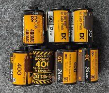 Kodak Color Lomo Lot (400Asa. 7 Mixed Rolls. See Description.)