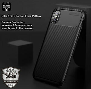 iPhone X XR XS 11 Pro MAX Heavy Duty Shockproof TPU Case Tough Protective Cover