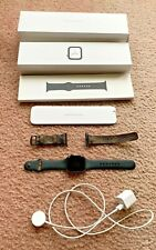 Apple Watch Series 4 44 mm Space Gray Aluminum Case w/ designer LV watch band
