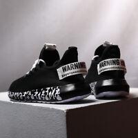 Men's Tennis Sports Running Shoes Outdoor Light Comfortable Walking Gym Sneakers