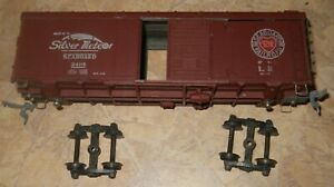 Model Die Casting (MDC)  Die Cast 42' Seaboard Silver Meteor Wagon Top Box Car