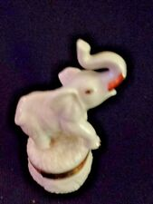 Lenox Treasures: Trunk Full of Wishes Elephant Trinket Box with Gold Charm 1st