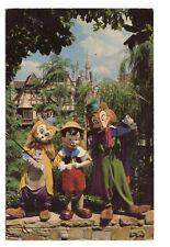 Watch Out Pinocchio Walt Disney World Florida Vintage Postcard Aug88