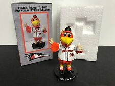 SHERMAN Mascot Delmarva Shorebirds 2017 Mini Bobblehead SGA Limited 1/1000