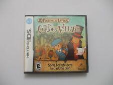 BRAND NEW & SEALED Original Nintendo DS Professor Layton & Curious Village