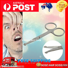 """PROFESSIONAL PET DOG GROOMING CURVED BALL TIP HAIR CUTTING RAZOR SCISSORS 4.5"""""""