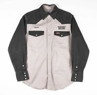 Vintage CARHARTT Beige Worker Shirt Size Mens Small