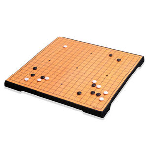 Baduk Game Foldable Magnetic Go Board Game Set for Travel By Myungin 086